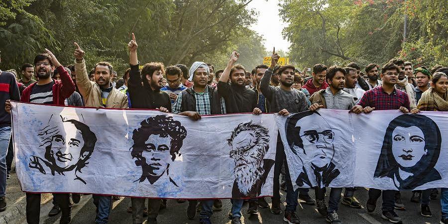 Delhi students