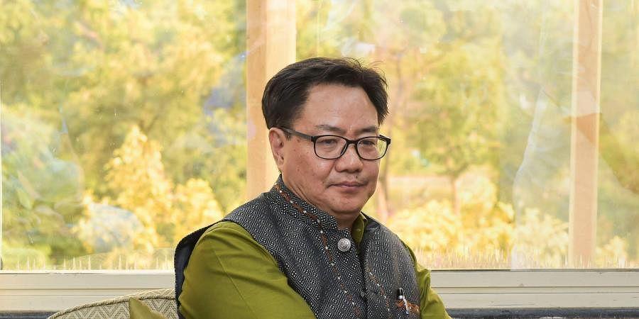 Union Minister Kiren Rijiju