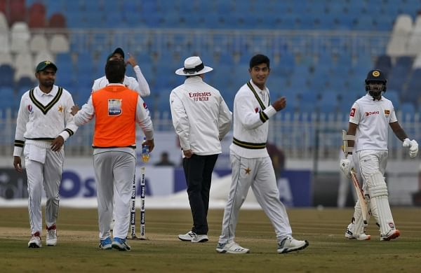 Heavy rain before lunch stops play in first Test between Pakistan and Sri Lanka