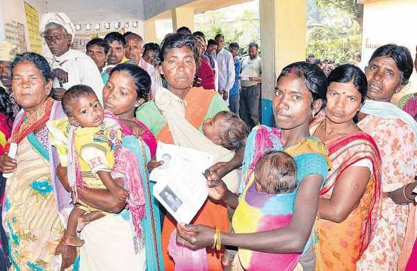 Jharkhand poll: Voting for 12 seats ends, 57.96 per centvotes cast