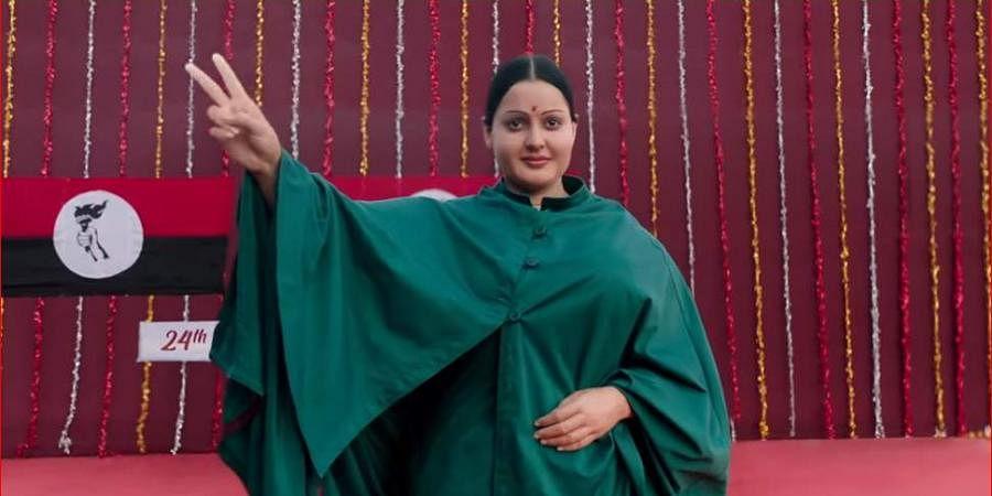 Kangana Ranaut puts on 10 kg for Thalaivi- The New Indian Express