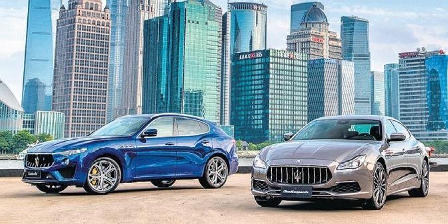 Italian luxury carmaker Maserati