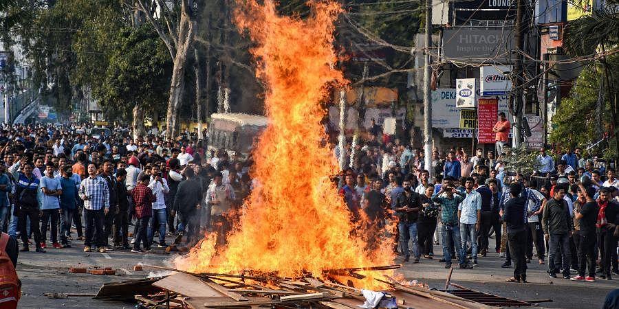 Assam protest
