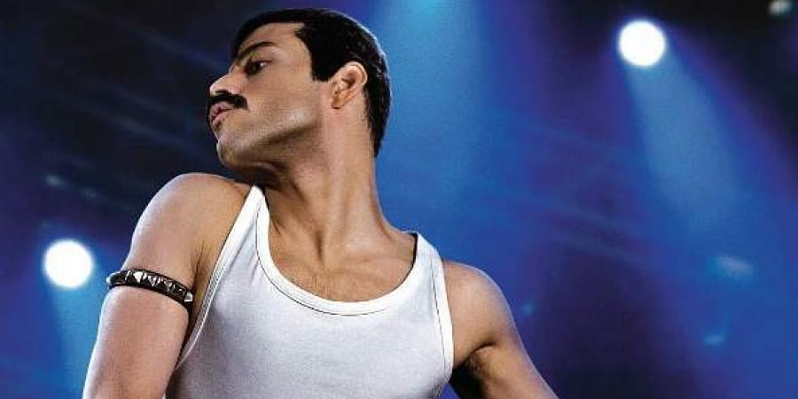 Rami Malek as Freddi Mercury in 'Bohemian Rhapsody'.