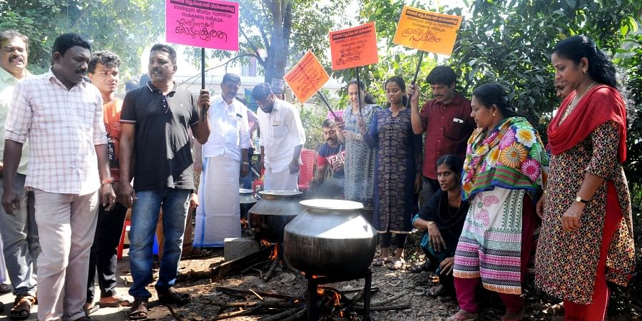 Maradu protest