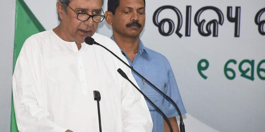 Odisha CMNaveen Patnaik