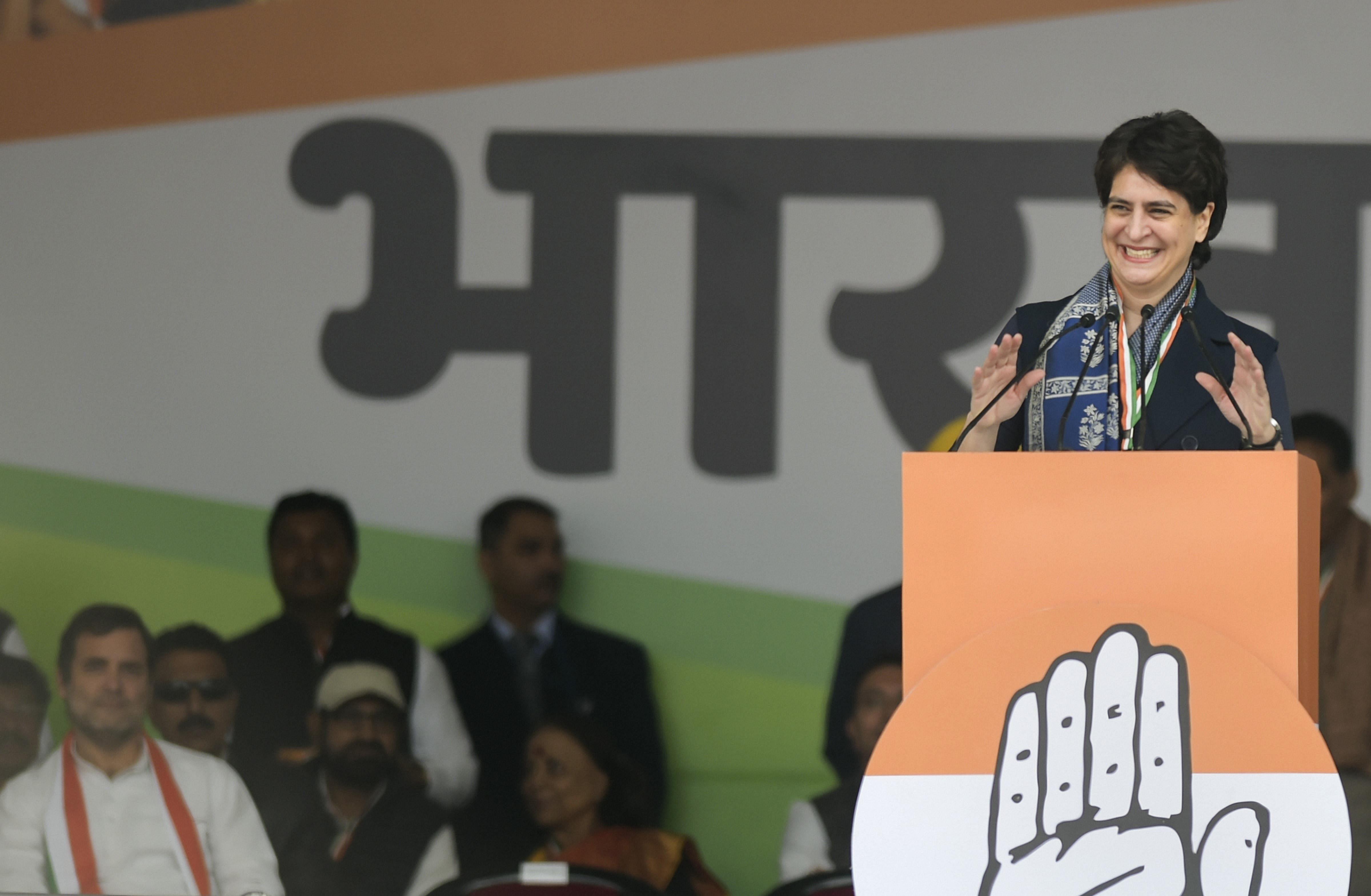 Priyanka Gandhi - PTI