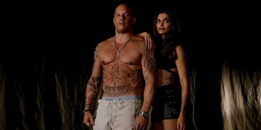 Vin Diesel and Deepika Padukone.