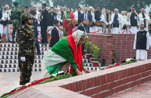 """Bangladesh marks 49th """"Victory Day"""" with grand parade; Indian Army band contingent participates"""