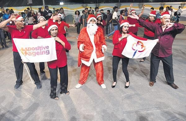 Age no barrier, say senior citizens