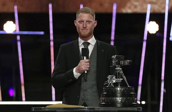 Ben Stokes named BBC Sports Personality of the Year forWorld Cup heroics