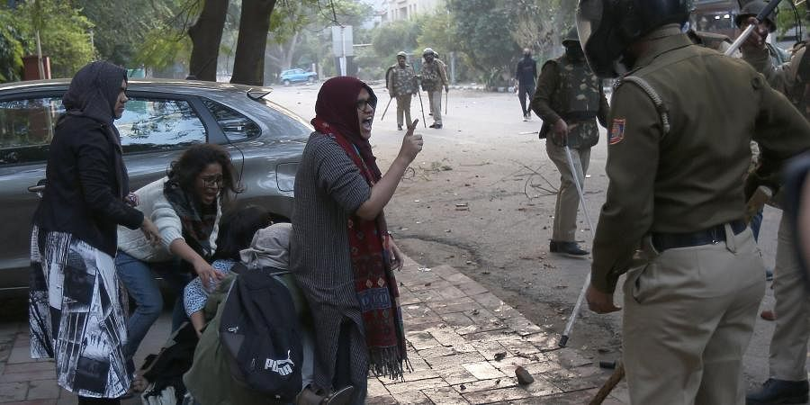 Videos of purported police firing, injured students in the Jamia university bathroom as well as footage of them bleeding emerged on the social media. But Delhi Police refuted reports of any casualty during the clashes.