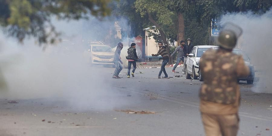 Delhi Policeresort to firing teargas shells and later entered the Jamia university campus in search of those who might have sneaked there, leading to panic among the residents. Till late evening, Jamia Nagar resonated with loud bangs of teargas shells fi
