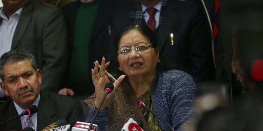 Vice-chancellor of Delhi's Jamia Millia Islamia university Najma Akhtar