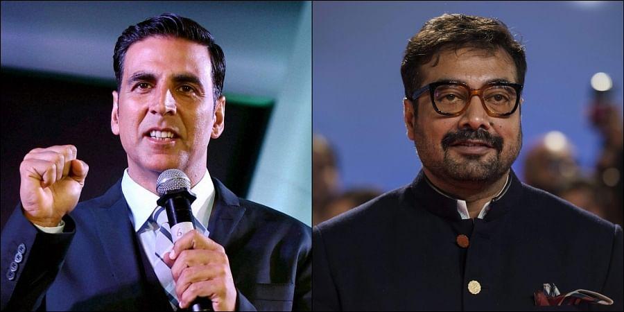 (Left) Akshay Kumar and (right) Anurag Kashyap