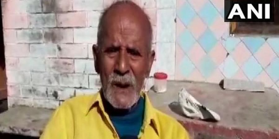 Dani Ram, a resident of Khatima town.