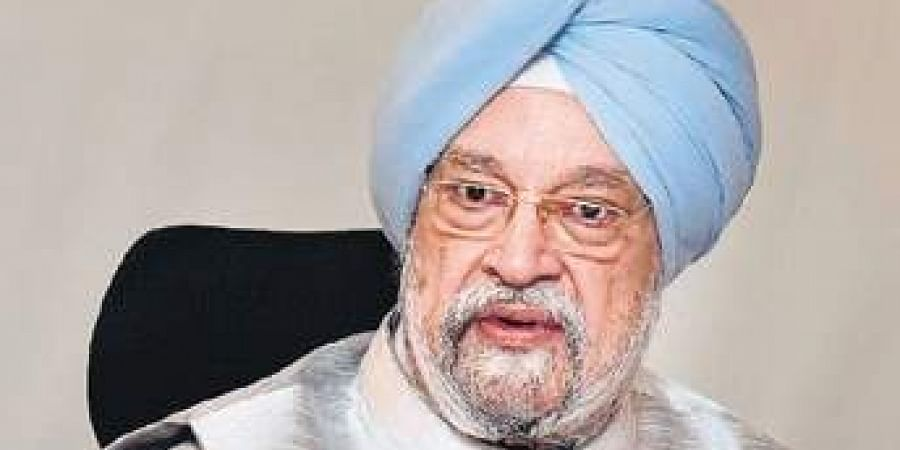 Union Minister for Housing and Urban Affairs Hardeep Singh Puri