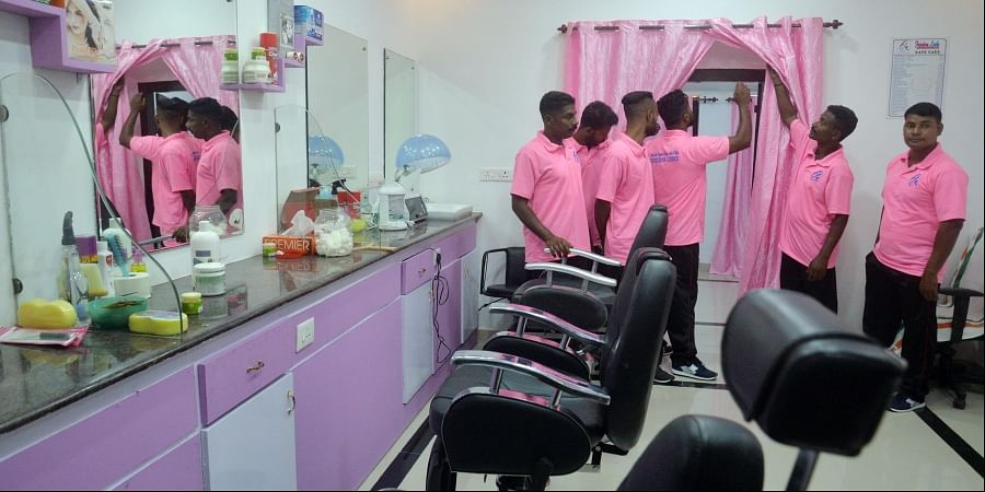 Freedom Looks, a men's beauty salon manned by inmates of Central Prison, was inaugurated