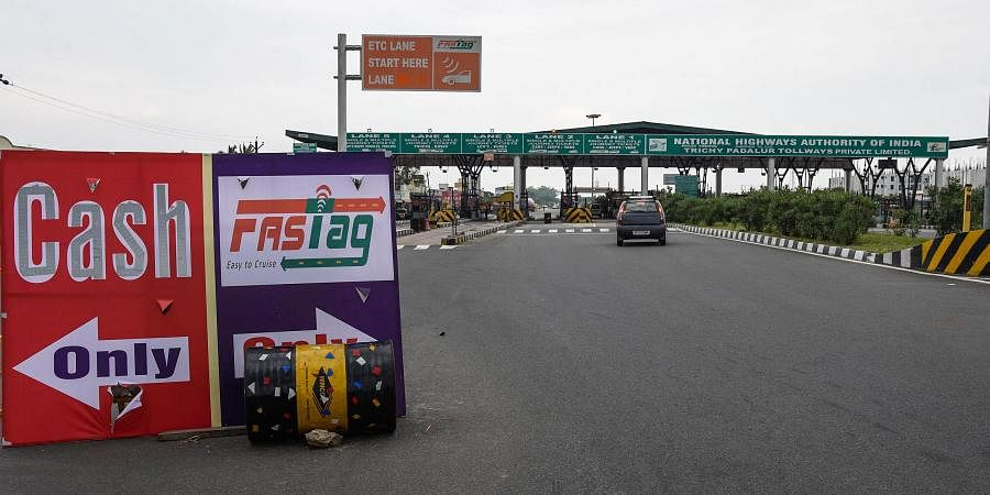 The Union government earlier this year made it mandatory for all vehicles using toll plazas to be fixed with FASTag cards.