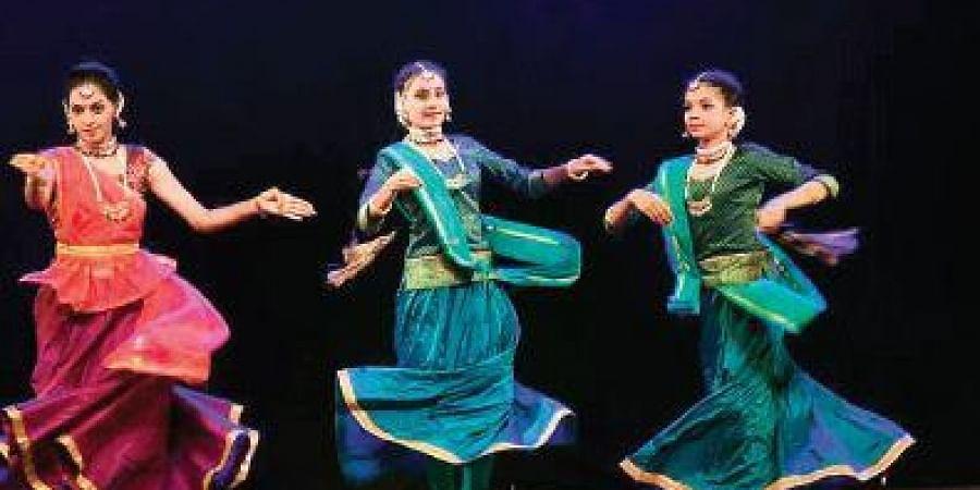 Dancers at 'Antarang 2019'