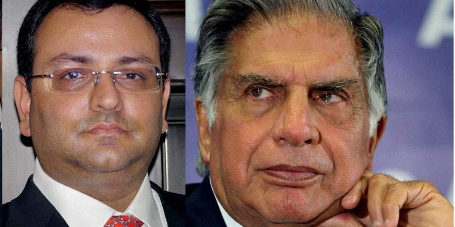 Cyrus Mistry (Left) and Ratan Tata (Right) (File photo)