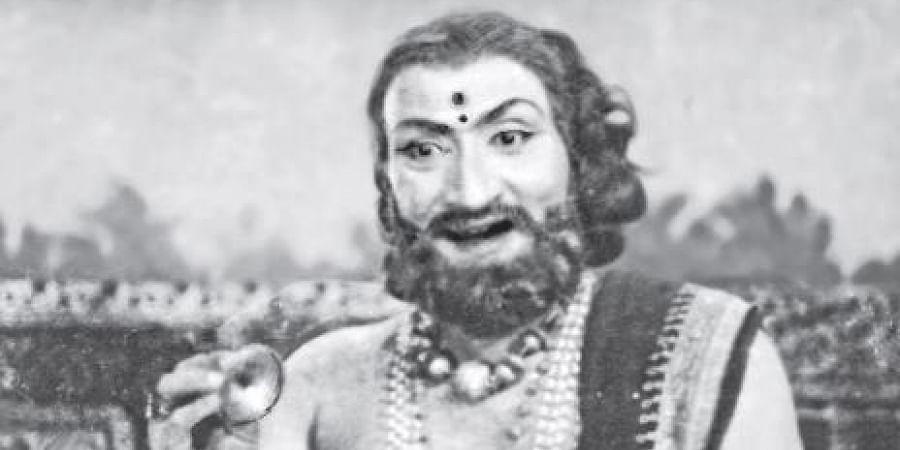 Vedantam Raghavayya, the legendary Kuchipudi dancer, choreographer, dance-director and film-director