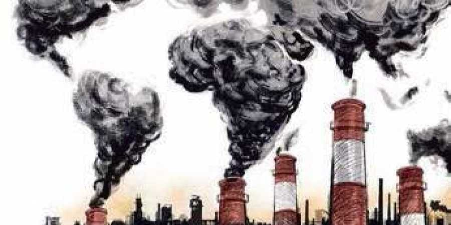 Air pollution, Factories, Industries