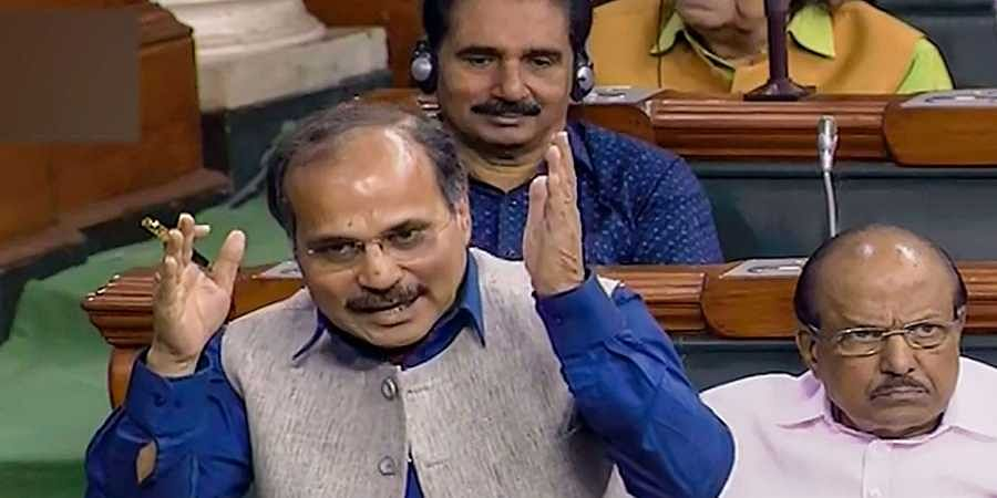 Congress leader Adhir Ranjan Chowdhury. (File | PTI)