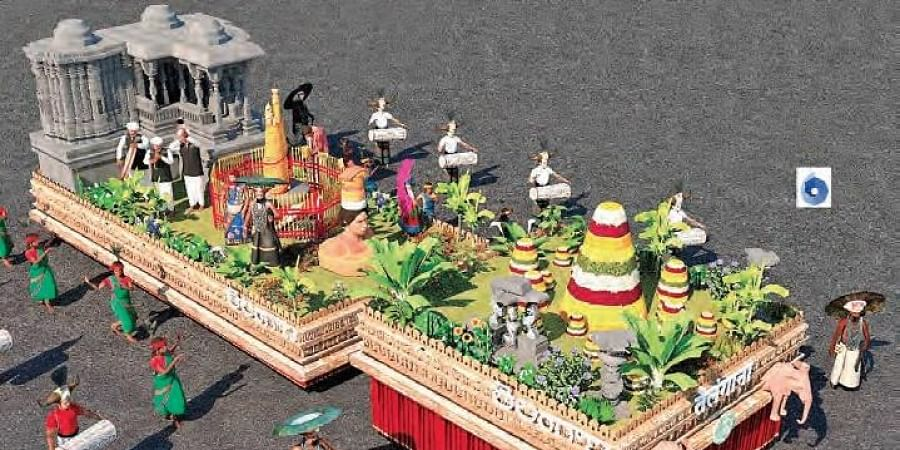 3-D model of State's tableau to be showcased at the Republic Day Parade in New Delhi
