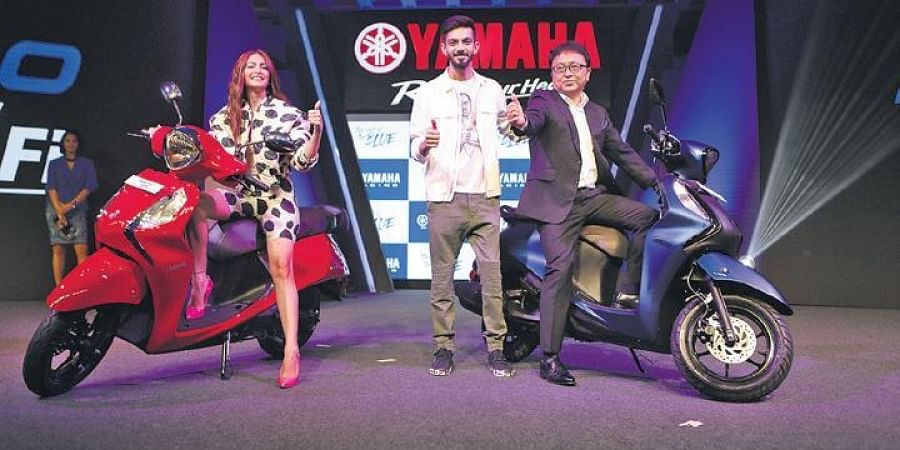 Yamaha's 'Fascino125 FI' and 'RayZR125 FI' scooters are launched
