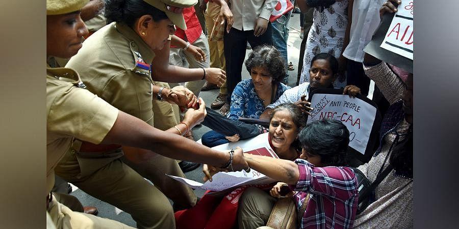 CAA protest in Chennai
