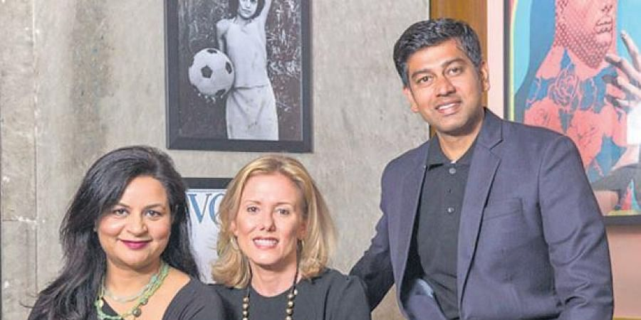ZestMoney founders Priya Sharma, Lizzie Chapman and Ashish Anantharaman