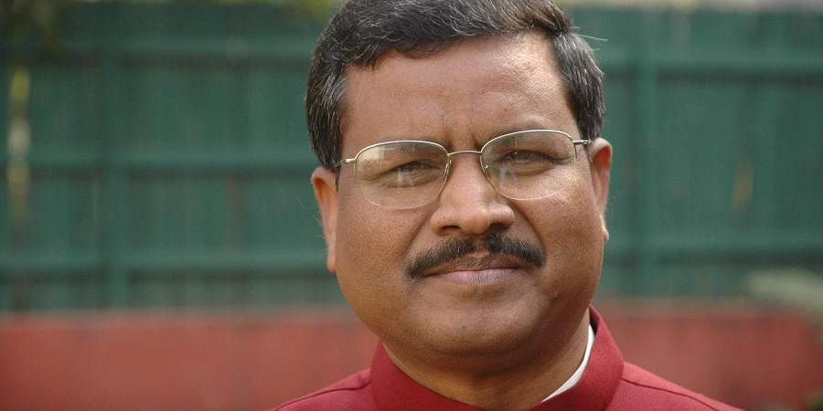 Jharkhand Vikas Morcha (JVM) chief Babulal Marandi