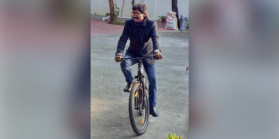 Jharkhand CM-designate Hemant Soren in Ranchi