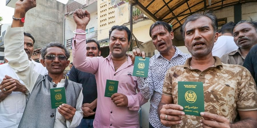 Photos of Hindu refugees for representational purposes. (Photo | PTI)