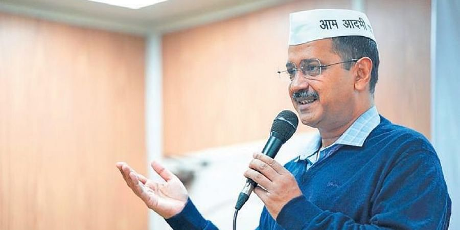 Aam Aadmi Party chief Arvind Kejriwal.