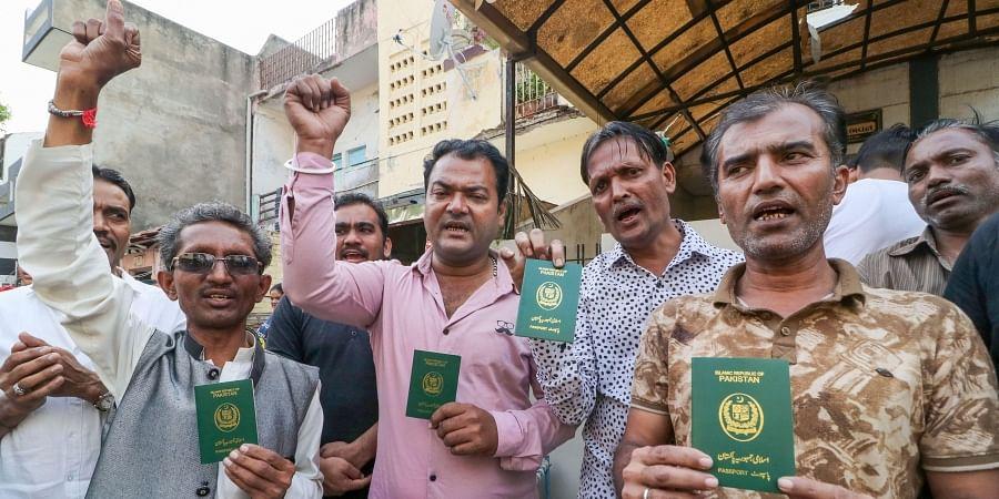 Photos of Hindu refugees for representational purposes. (Photo   PTI)