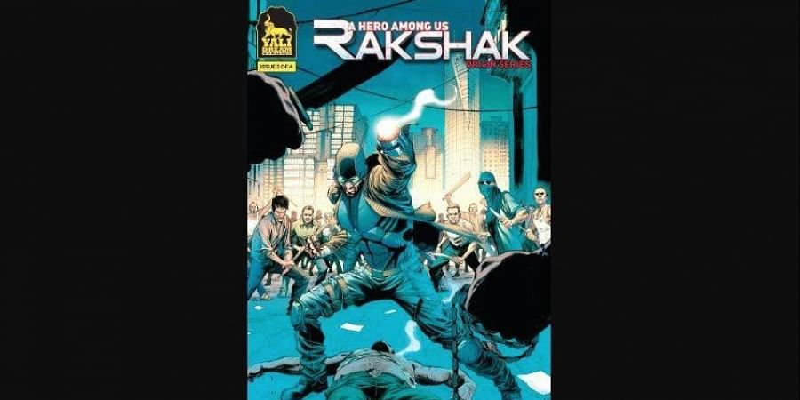 Director Sanjay Gupta to make superhero film based on the Indian graphic novel 'Rakshak'.