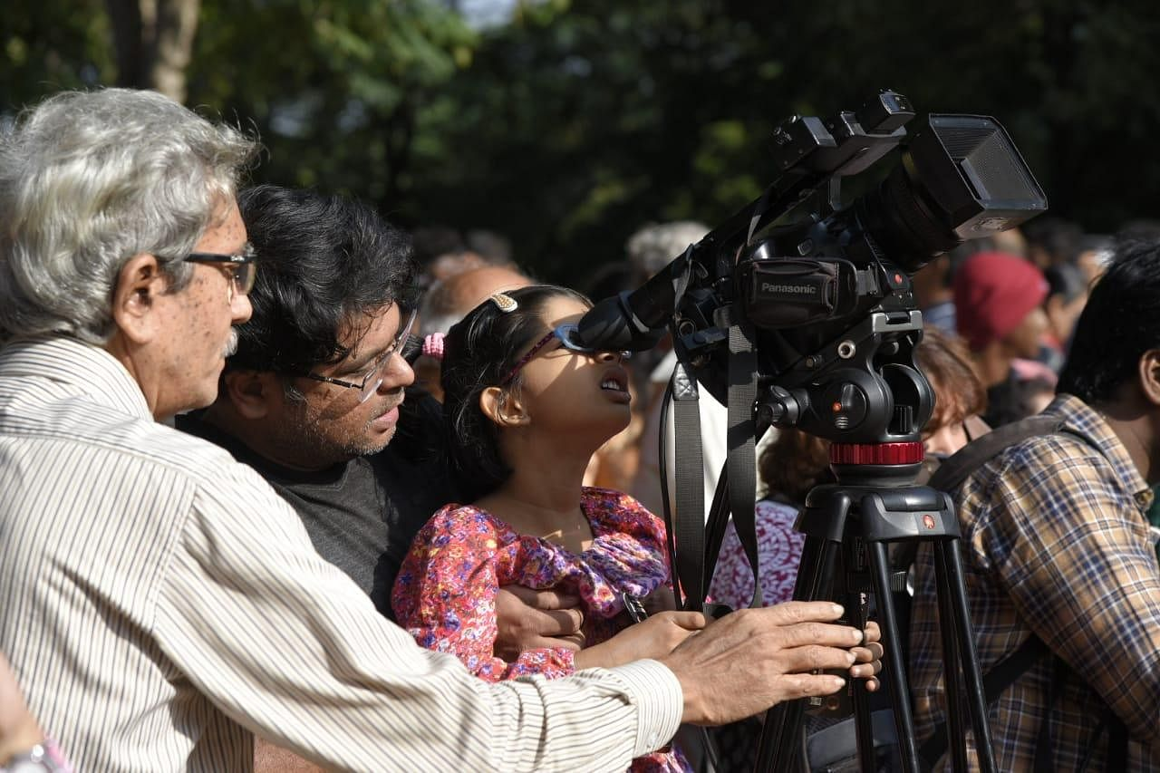 The solar eclipse also holds religious importance and special prayers are offered on the day.