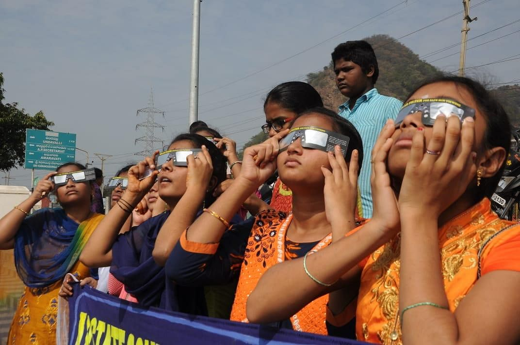According to Tirumala Tirupati Devasthanam (TTD), which manages the affairs of the richest temple, the abode of Lord Venkateswara was closed nine hours before the beginning of the solar eclipse. Several rituals scheduled at the temple were also cancelled.