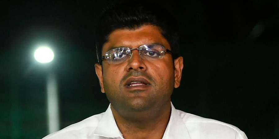 Haryana Deputy CM-designate Dushyant Chautala