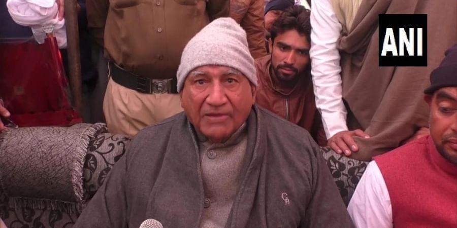 JJP vice-president Ram Kumar Gautam resigned from his office