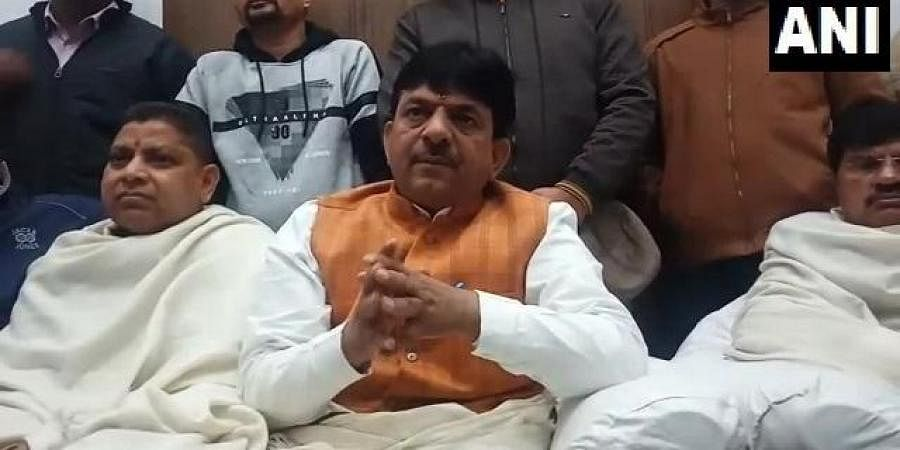 Uttar Pradesh MoS Skill Development Kapil Dev Aggarwal
