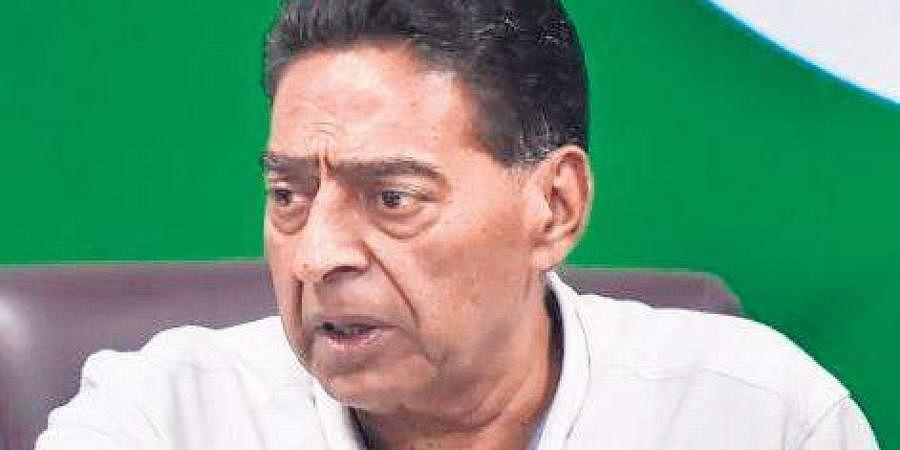 Delhi Congress chief Subhash Chopra