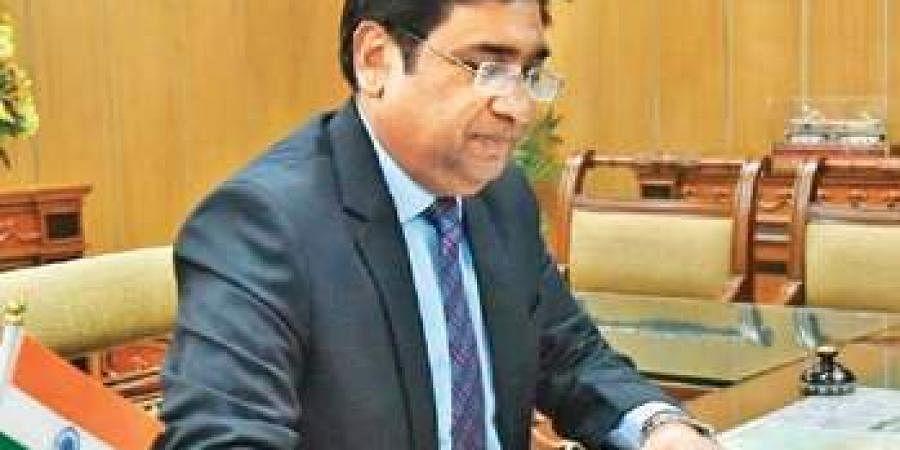 Railway Board Chairman Vinod Kumar Yadav.