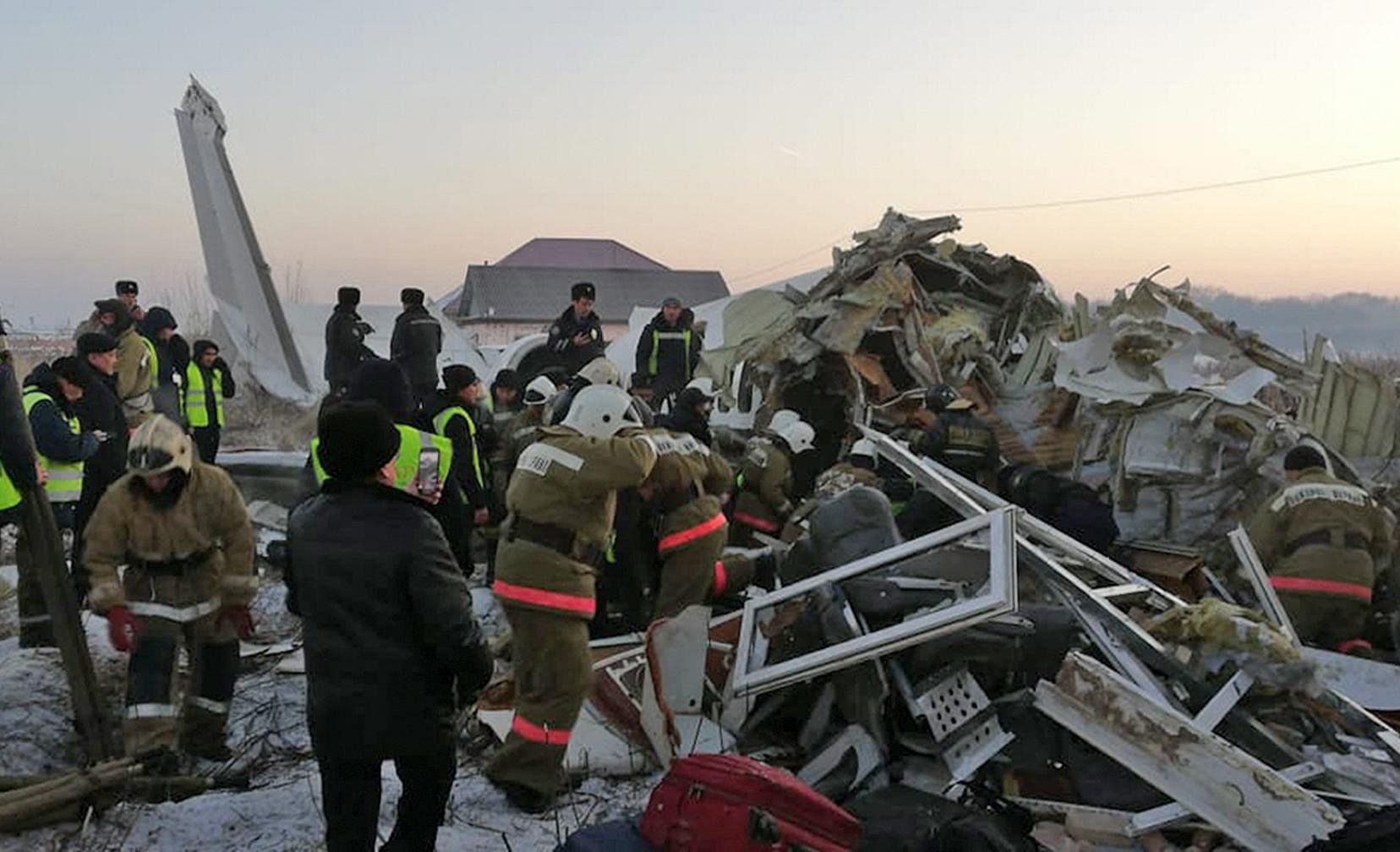 All Bek Air and Fokker-100 flights in Kazakhstan have been suspended pending the investigation of the crash.