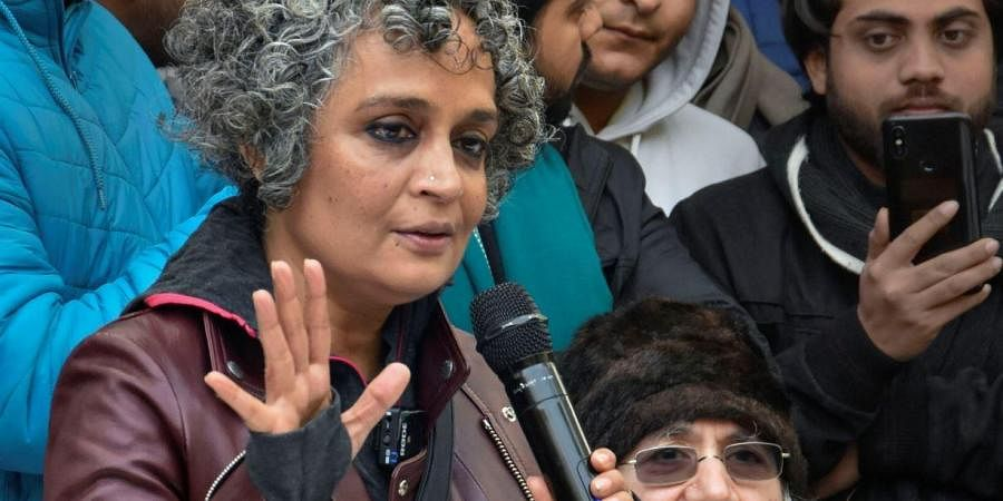 Writer-activist Arundhati Roy