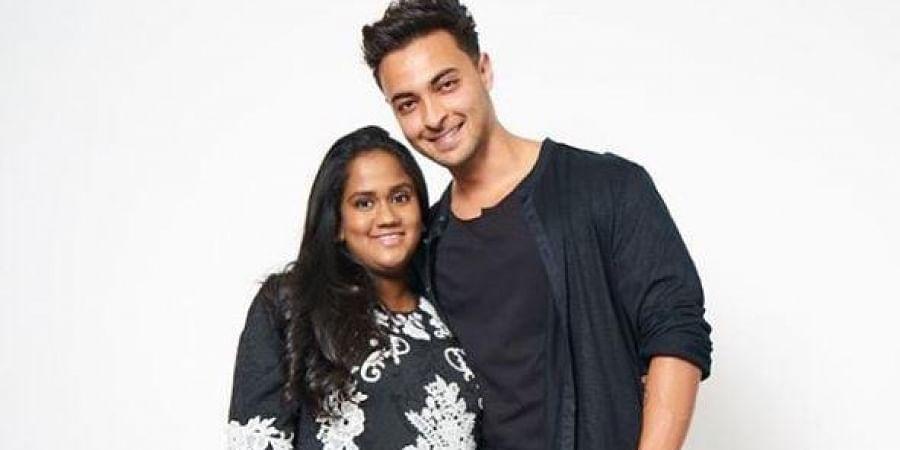Arpita Khan Sharma and her husband, actor Aayush Sharma