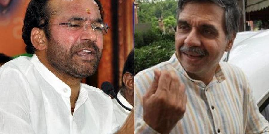 MoS (Home)G Kishan Reddy and Congress leader Sandeep Dikshit