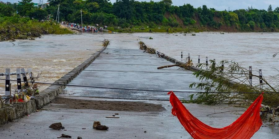 Floods in North India killed over 1,900 people this year, displaced over three million: Report...